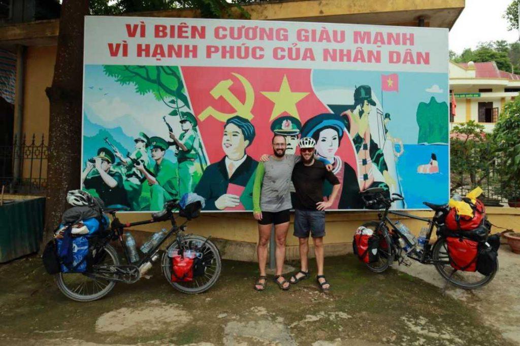 Mit dem Fahrrad in Vietnam