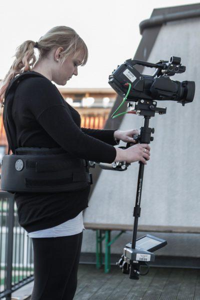 Mediengestalter lernen Steadycam