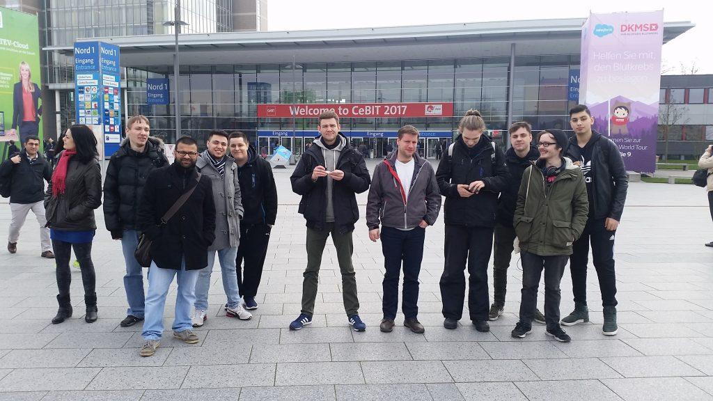 Exkursion cimdata Fachinformatiker Auszubildende und Umschüler
