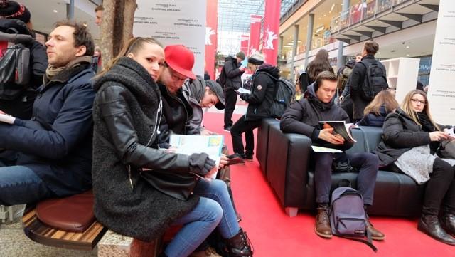 Auszubildende erkunden die Berlinale