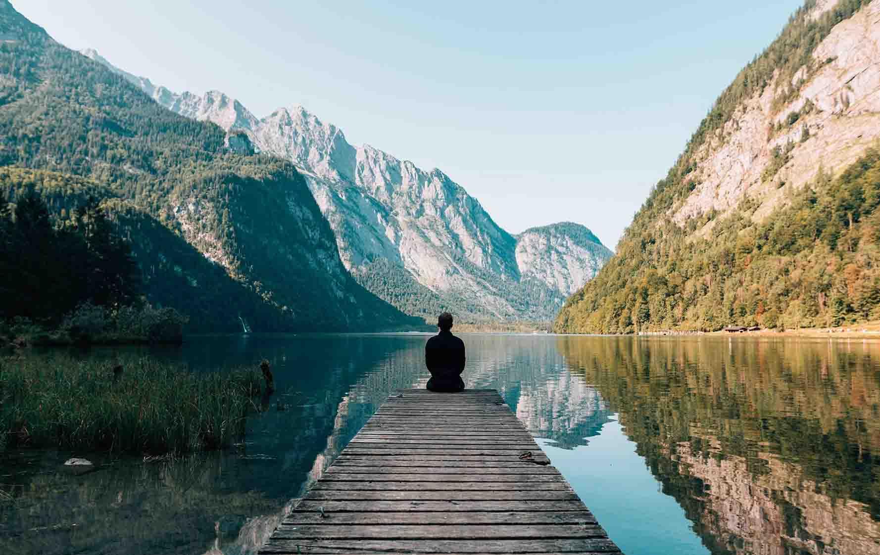 Im Urlaub vom stressigen Job erholen