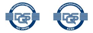 cimdata ist zertifiziert durch die DQS