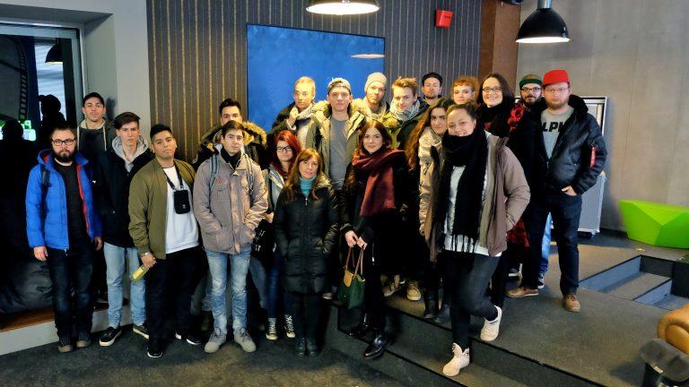 Gruppenfoto Exkursion