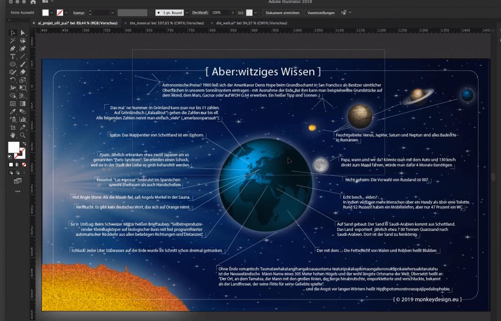 Beispielgrafik aus dem Illustrator-Kurs von Olli P.