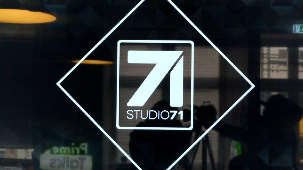 Mediengestalter besuchen Studio71