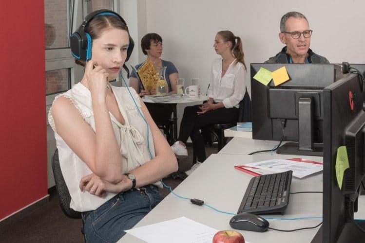 Virtuelle Umschulung am Standort Magdeburg bei cimdata