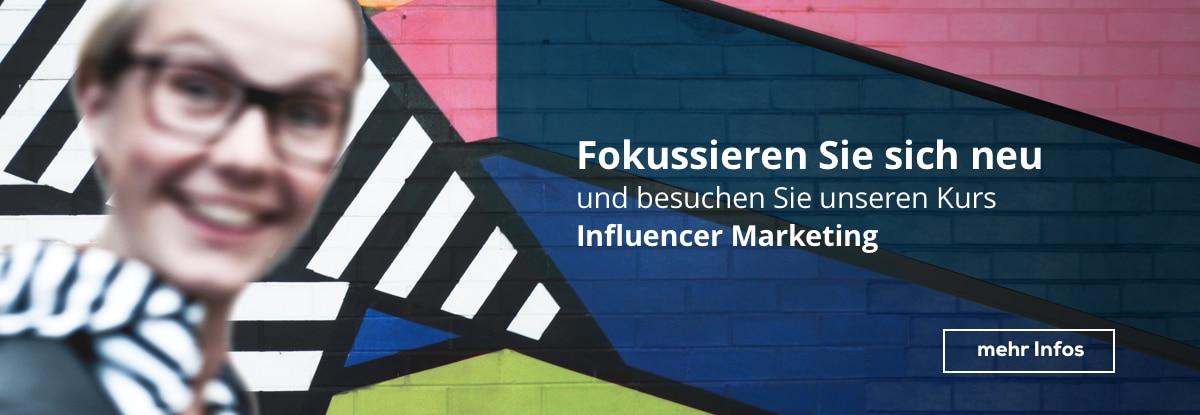 Weiterbildungskurs Influencer Marketing bei cimdata