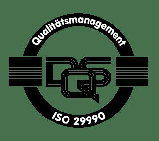 Qualitaetsmanagement ISO 29990