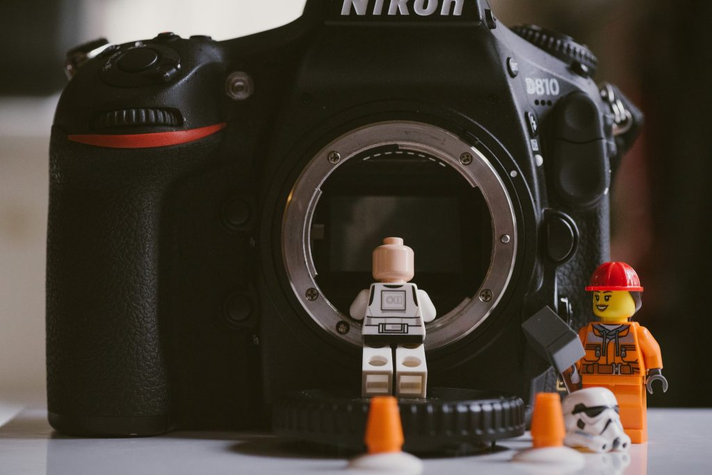 toys and camera